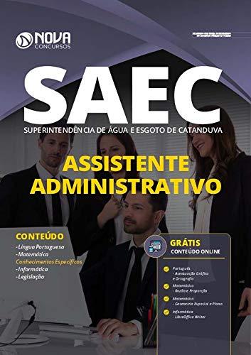 Folleto del concurso SAEC Catanduva - Asistente administrativo