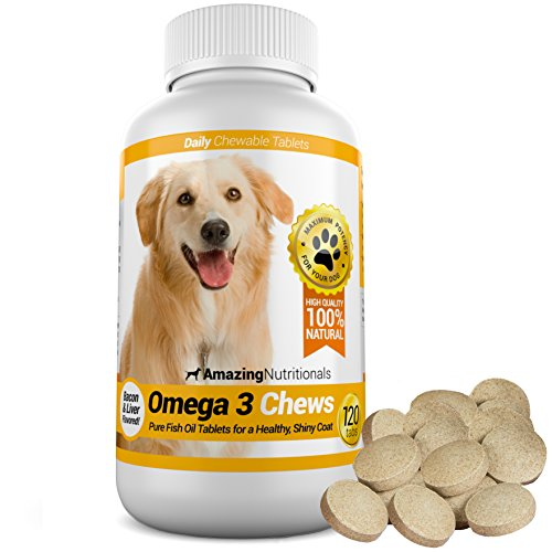 Amazing Nutritionals Omega-3 Fish Oil Chew-able...