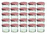 Cap+Cro To 66 Lot de 25 bocaux en verre pour conservation de confiture...