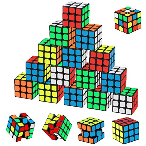 Mini Cube Puzzle Party Favors for Kids, Libay 20 Pack Magic...