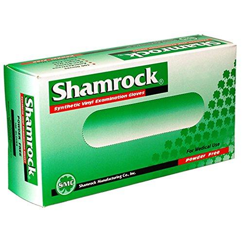 Shamrock 20212-M-bx Med Glove, Vinyl, No Powder, Thin, Cheap, Medium, Clear