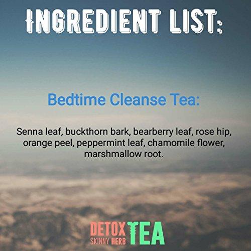 28 Days Bedtime Cleanse Tea : Detox Skinny Herb Tea - Effective Detox Tea, Support Natural Weight Loss Tea, 100% Natural 3