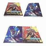 Porte Cartes Pokemon Album Album Classeur Livre 30 Pages Capacité de 240 Cartes...