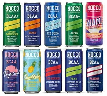 NOCCO (No Carbs Company) Mixed Case (24x 330ml cans) ALL FLAVOURS