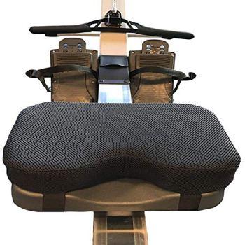 Coussin De Siège Pour Rameur, S'adapte Parfaitement Sur Le Rameur Concept 2, Mousse À Mémoire De Forme Plus Épaisse, Convient Également À Merveille Avec Un Vélo Stationnaire Couché Pour Exercice