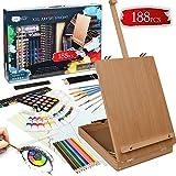 Artina Set de Peinture Vincent 188 pièces avec Chevalet – Coffret de...