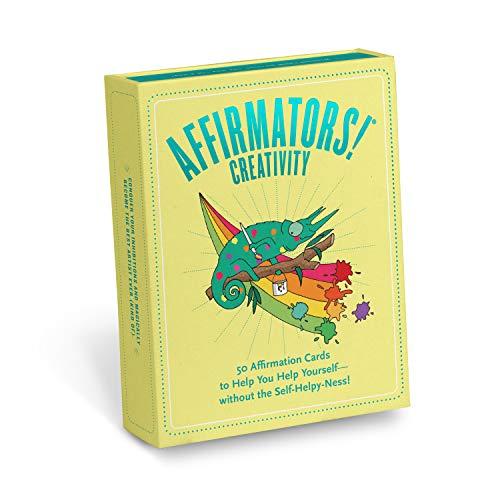 Affirmators! Creativity Deck: 50 Affirmation Cards to Help...