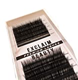 Lash Extension Supplies, D Curl Eyelash Extensions Including 10-15mm of Mixed Flat 0.15mm Individual Eyelashes, False Black Mink lashes individual Extension For Saloon Use