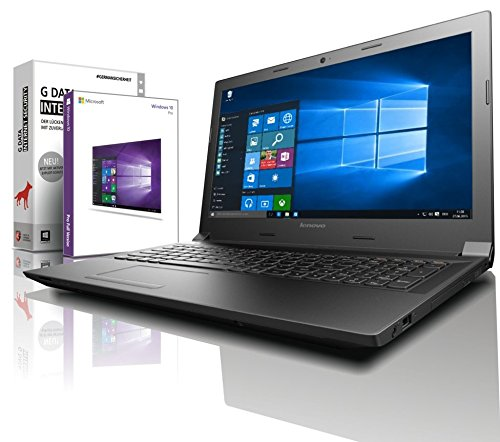 Lenovo (15,6 Zoll) HD+ Notebook (Intel Pentium Silver N5000 Quad Core, 8GB DDR4, 256 GB SSD, Intel HD 605, HDMI, Webcam, Bluetooth, USB 3.0, WLAN, Windows 10 Prof. 64 Bit) #6358