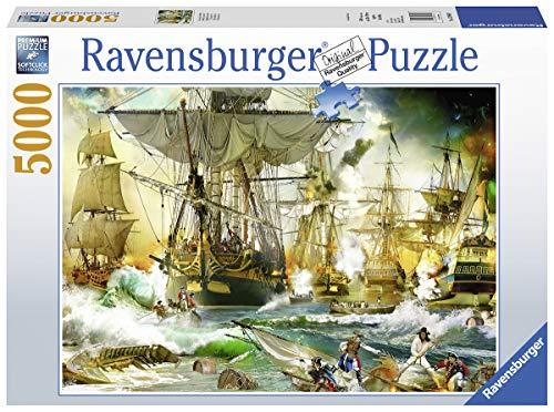 Ravensburger Battaglia in Alto Mare Puzzle, 5000 Pezzi, 13969