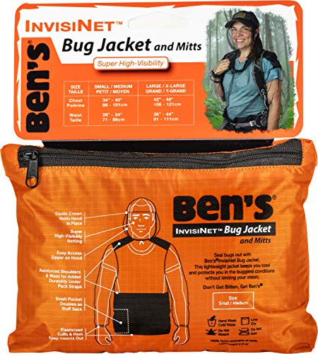 Ben's InvisiNet Bug Jacket S/M