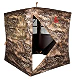 Primal Treestands Wraith 270 Deluxe Blind - 2 Person Pop-Up Tent with 270 Degree One-Way See Through Panels, Premium Hunting Gear Sporting Good