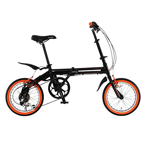 DOPPELGANGER(ドッペルギャンガー) 折りたたみ自転車 FALTRADシリーズ BLACKBULLET II 104-DP 16インチ