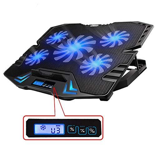TopMate C5 10-15.6 pulgadas Gaming Laptop Cooler Cooling Pad   5...