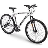 26' Royce Union RTT Mens 21-Speed Mountain Bike, 22' Aluminum Frame, Trigger Shift, Silver