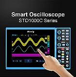 Micsig Digital Smart Oscilloscope 100/150MHz 4/2CH STO1000C (STO1104C+ Battery + 5 Serial decoding +HDMI Function)