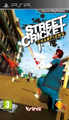 Street Cricket Champions for PSP Game