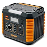 BALDR Portable Power Station 330W, Portable Solar Generators for home use, CPAP Backup Battery with QC3.0&TypeC SOS Flashlight and Wireless Charger for Outdoor Camping Travel Emergency