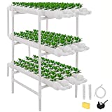 ETE ETMATE Kit de Cultivo de Sitio hidropnico Experimento hidropnico y Cultivo de Agua Sistema de Plantas de jardn Sistema de Cultivo hidropnico para Verduras, Ensalada, Verduras, Frutas