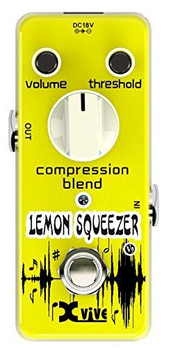 Xvive XV9 Lemon Squeezer Compressor Guitar pedal