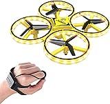 3T6B Hand Gesture Controlled Drones, Mini Drone Gravity Sensing Hand Sensor Drone for Children with Smart Watch Controlled Hand Control Mini Drone