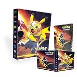 TUXUNQING Porte-Cartes Pokémon,Livre de Cartes Livre de Cartes de Collection...