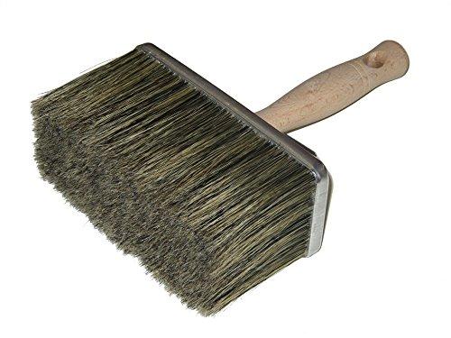 Bonum 5180035 Maler-Deckenbürste Alu, graue Borste