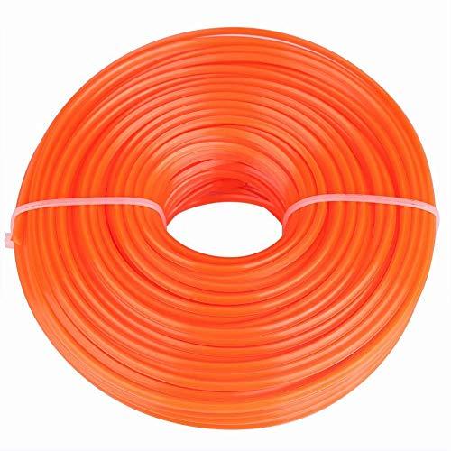 Fdit 3 mm Trimmer Line Round String Trimmer Cord Line Trimmer bobina di ricambio per cesoie tagliaerba (50 M)