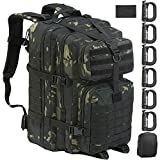 GZ XINXING Large Military Tactical Backpack Army 3 Day Assault Pack Molle Bag Backpacks Rucksacks...