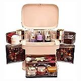 Cosméticos Organizador de escritorio joyería de acrílico del soporte de exhibición, Maquillaje Caja de almacenamiento de escritorio Caddie, joyería, perfumería Barras de labios de contenedores, por Dr