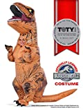 Rubie�s Jurassic World T-Rex Inflatable Costume, Child�s Size Small