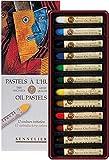Sennelier Pastels à Huile 12 Couleurs - Qualité Artistique (France Import)...