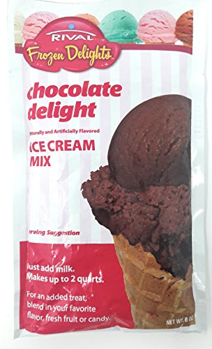 Rival Frozen Delights Chocolate Ice Cream Mix (Single Package)