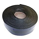 EWT Anti-Crack 65FT x 3IN Asphalt Tarmac Joint Crack Sealer Fabric Self-Adhesive Patch Bitumen Tape, Parking Lot, Roof, All Weather (618)
