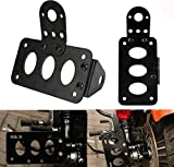 Licence Support Plaque D'immatriculation Kit Facile À Fixer Montage Kit Moto...