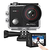 AKASO EK7000 Pro 4K Action Camera with Touch Screen EIS Adjustable View Angle Web Camera 40m...