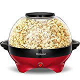 Yabano Machine à Popcorn, Électrique Machine à Pop Corn avec Plateau de...