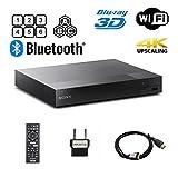 Sony BDP-S6700 Multi Region Blu-ray DVD Region Free Player 110-240 Volts; Dynastar HDMI Cable & Dynastar Plug Adapter Package WiFi / 3D/ 4K UpScaling Smart Region Free