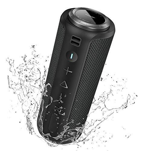 Cassa Bluetooth Portatile Potente SOGNLOW: 40W HD Stereo Altoparlante Bluetooth 5.0 Impermeabile IPX7 PartySync Multi-Accoppiamento Con Bass Radiator & DSP & Microfono & AUX