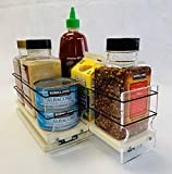 Vertical Spice - 33x1x11 DC - Spice Organizer - Cabinet Drawers for Large Containers