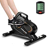 YOSUDA Under Desk Bike Pedal Exerciser - Magnetic Mini Exercise Bike for Arm/Leg Exercise, Desk Pedal Bike for Home/Office Workout