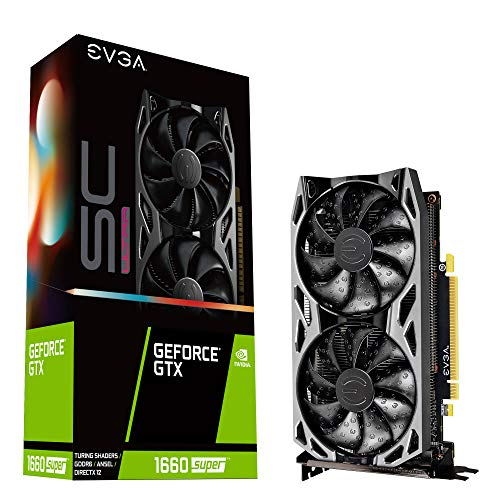 EVGA GeForce GTX 1660 SUPER 6GB SC Ultra Boost Scheda grafica