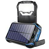 26800mAh Batterie Externe Solaire, Soluser Chargeur Solaire [4 LED...