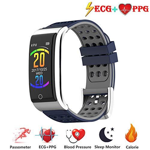 Zeerkeer ECG e Orologio da Polso cardiofrequenzimetro PPG Orologio da Fitness per attivit Fisica...