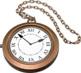 Collier Steampunk Rappeur Fête De Noël Blanc Lapin Géant Jumbo Horloge Médaillon