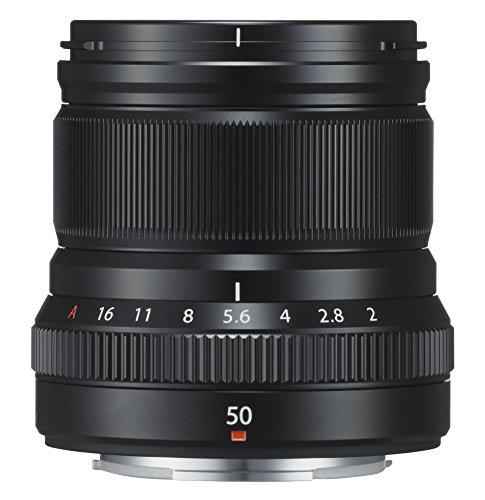 FUJIFILM 交換レンズ50mmF2ブラック XF50MMF2 R WR B