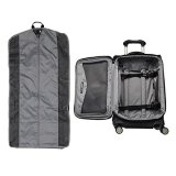 """Travelpro Luggage Crew 11 21"""" Carry-on Expandable Spinner w/Suiter and USB Port, Black"""