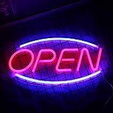 Enseignes au néon ouvertes Mot ouvert néons veilleuses pour décor de...