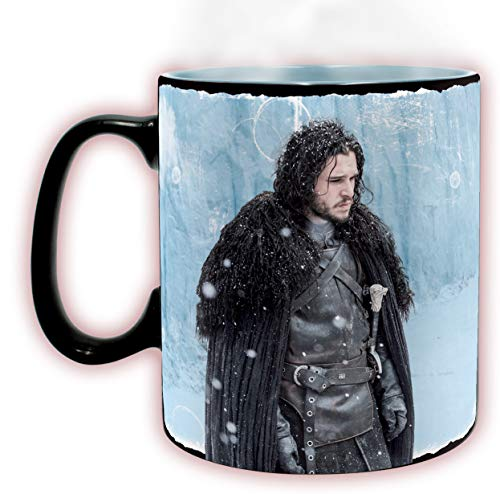 ABYstyle Game of Thrones - Taza Heat Change Winter is Here 460 ML (Efecto Térmico)