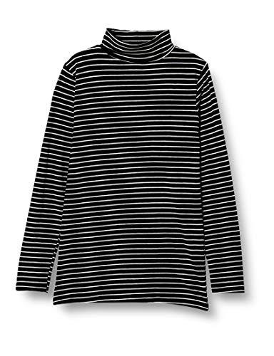 [ベルメゾン] あったか インナー ホットコット 綿混 タートル ネック 長袖 C16704 レディース ブラック系ボ...